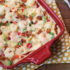 Shrimp-and-Grits Casserole