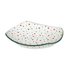 Holiday Dots Square Bowl - The Pampered Chef™