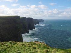 adventur, absolut breathtak, moher, ireland, cliff, footprint, blog, allà, fortun