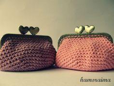 crochet coin purse / monedero de crochet