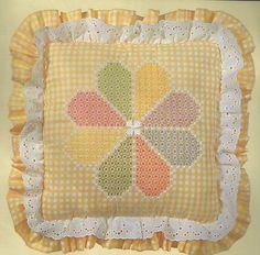 Vintage Down on The Farm Originals Dresden Plate Chicken Scratch Embroidery Kit | eBay
