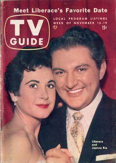 Joanne Rio and Liberace  November 13-19 1954