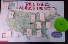 Joyful Learner: Tall Tales Unit