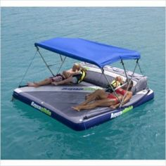 Aquaglide Airport Raft / Boat Tow Aquatop Canopy – Inflatable Fun in the Sun - TowableTubesDirect.com