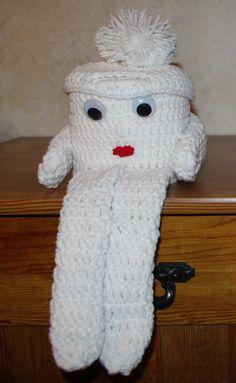 Junior Toilet Paper Cover Crochet Pattern