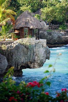Rockhouse Hotel, Ocean Gazebo ~ Negril, Jamaica