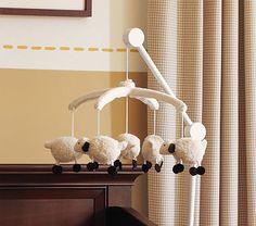 Lamb Mobile #PotteryBarnKids