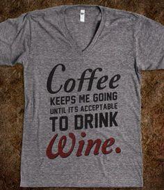 #coffee #wine #funny @Jackie Hablizel