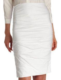 Nicole Miller Women's Tucked Skirt