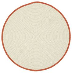 Hableland Rugs in Cream Pumpkin Pie from @hableconst is a great way to add that touch of Fall to your home! #CapelRugs
