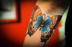 Big Old School Butterfly I designed and did today.  Woot.