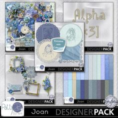 Joan Collection #pattybscraps #mymemories #digitalscrapbooking