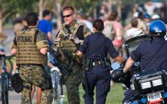 """Militarization of Police in America – what does it mean for the nation?  Gabriela Lemus: """"Our democracy is in peril. We are witnessing a local law enforcement running amok and instead of protecting the safety and civil liberties of the residents, it has been employing tactics that violate the rights of citizens."""""""