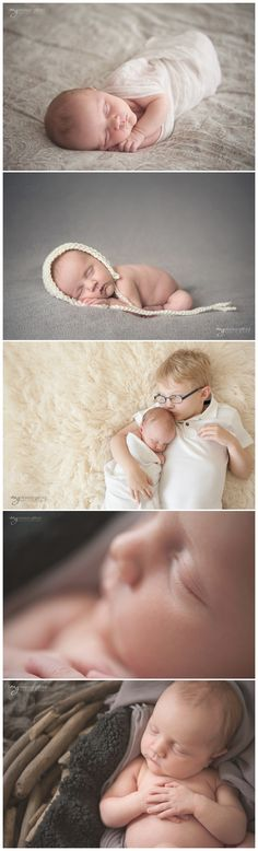 newborn photography – soft lighting and tones for posed newborn photography