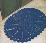 Crochet rug patterns with diagrams. There are more pages.
