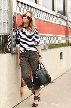 #stripes + #camo ! LOVE