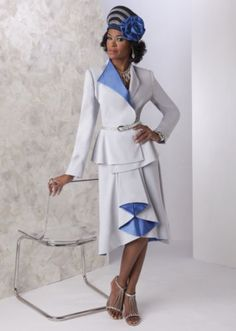 Saylor Skirt Suit and Hat from ASHRO