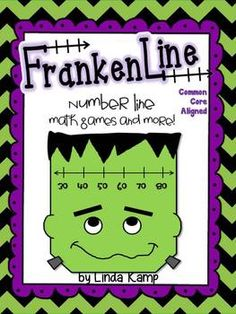 Number line math games and more to practice using the associative property, skip counting and compensation strategies, elapsed time, money and place value. Common Core aligned.