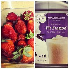 """Breakfast of Champions"" according to @Marian Bacol-Uba #MariantheFoodie #FitFrappe"