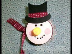 Tea Light Snowman