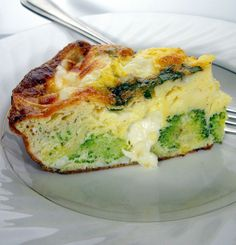 Broccoli, Sun-Dried Tomato & Mozzarella Frittata