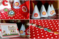 Angry Birds Party paper ideas
