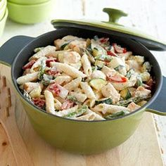 Creamy Pasta Primavera Recipe from our friends at Philadelphia Cream Cheese