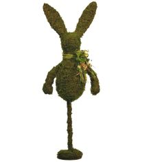 "28"" Angelvine Rabbit on Stand #trendytree #easter"