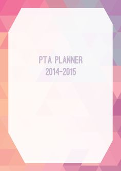 Published PTA Templates and Kits - Published PTA Templates and Poster Kits