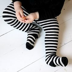 Babies in tights