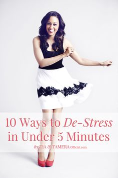 Move-it Monday: 10 Ways to De-Stress in 5 Minutes or Less