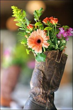 Cute way to display flowers