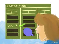 Make Your Own Family Feud Game at Home Steps famili reunion, feud game, famili feud