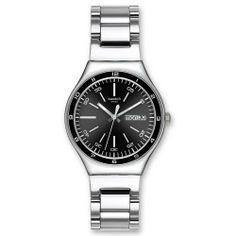 Swatch YGS749G Swatch. $85.61. Steel Bracelet Strap. Water Resistance : 3 ATM / 30 meters / 100 feet. Date. Save 29% Off!