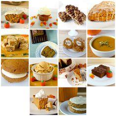 14 Favorite Pumpkin Recipes by Brown Eyed Baker