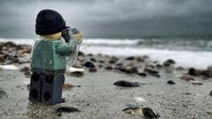 Everything About These Pictures Of A Tiny, Adventurous Lego Photographer is Awesome