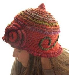 Nice crochet hat, knit hat, latest hat