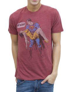 Superman Vintage Inspired Triblend T-Shirt