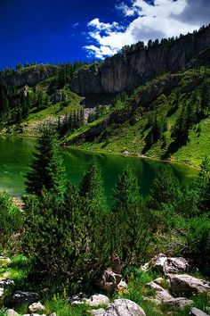 The Red Stone Lake, Rugova Gorge, Kosovo