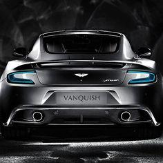 Breathtaking Aston Martin Vanquish