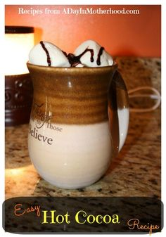 Easy Hot Cocoa Recip
