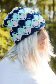 Wool-eater #crochet hat free pattern from @sarah_london