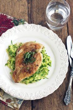 Chicken Piccata via DeliciouslyOrganic.net (grain free, paleo, gluten free)