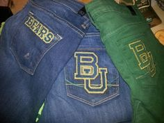 Game day goods for the #Baylor Bear!