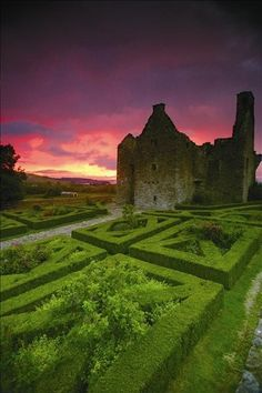 Tully castle, Fermanagh – Northern Ireland.