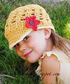 Kids Visor Hat pattern