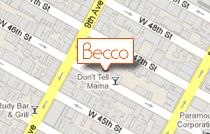 Becco's NYC: recommended for Lunch