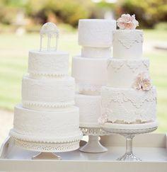 lace cake, gorgeous