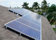 Solar Electric System in Fort Myers, FL   http://FafcoSolar.com
