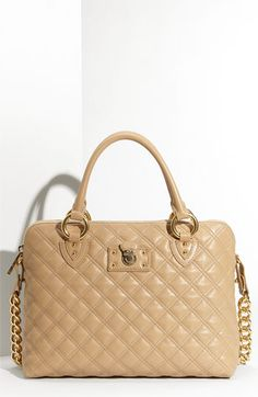 MARC JACOBS 'Quilting Standard' Leather Satchel available at #Nordstrom